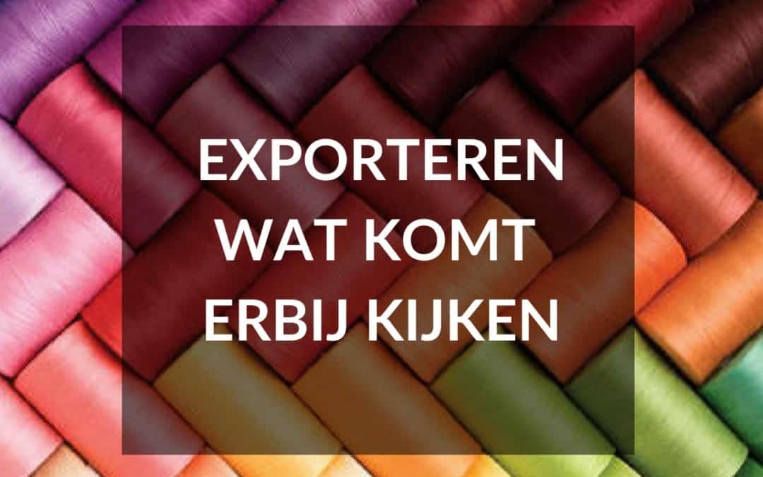 exporteren kledinglijn