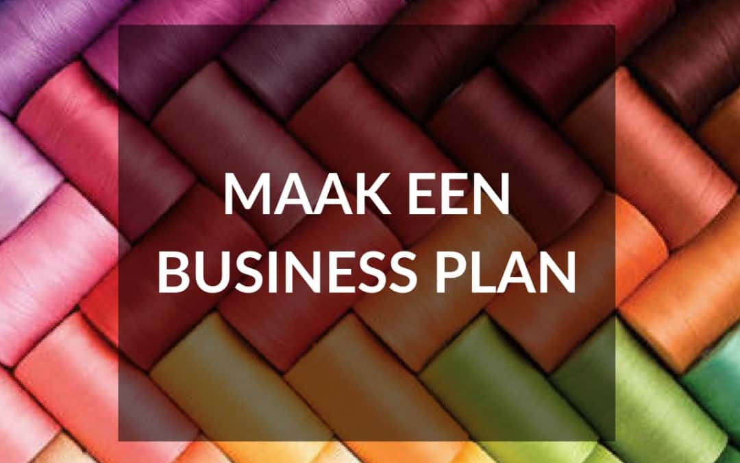 Maak een businessplan